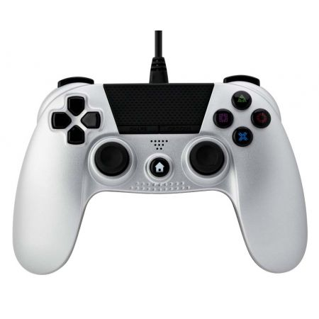 Manette Filaire Console PS4 Noire Under Control Blanche - 1620