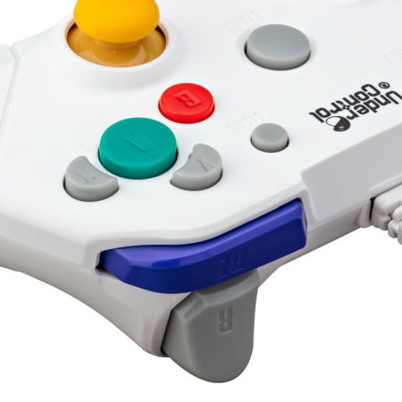 Manette filaire Nintendo GameCube & Wii - Blanche