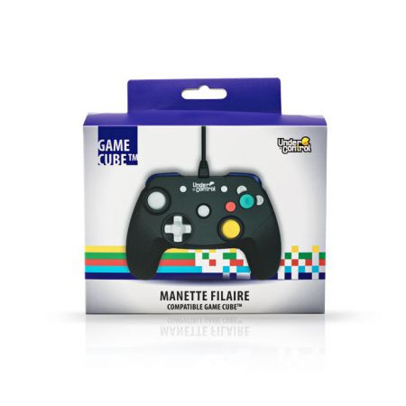 Manette filaire Nintendo GameCube & Wii - Noire