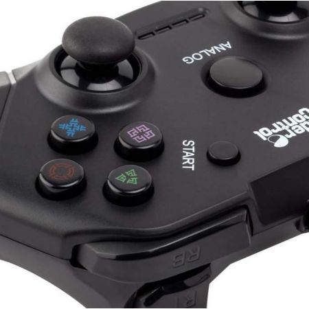 Manette Filaire pour Console PS2 PS1 Under Control Noire - 1115