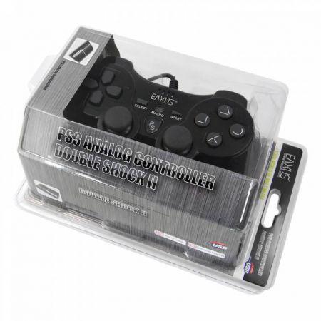 Manette Filaire USB Compatible Ps3 & PC Analogique Vibrante