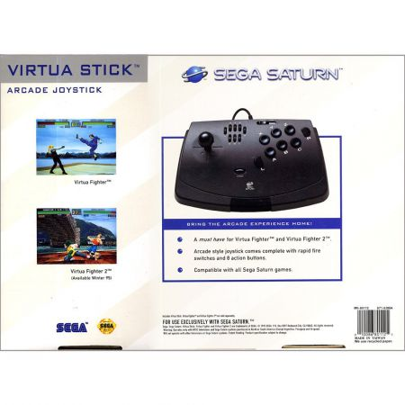 Manette Joystick Virtua Stick Arcade Officiel Sega Saturn - ASAT1125