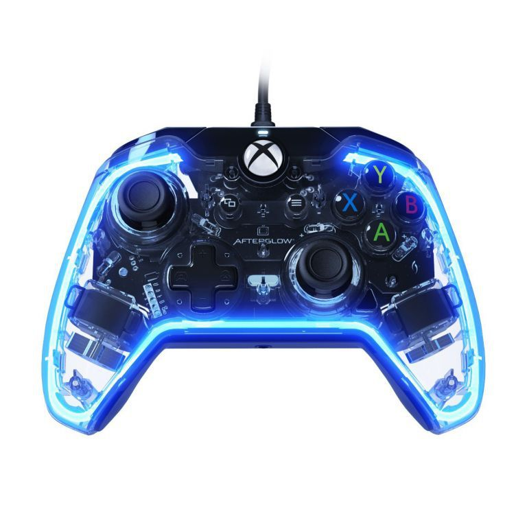 manette lumineuse xbox one afterglow officielle microsft jeux vide. Black Bedroom Furniture Sets. Home Design Ideas