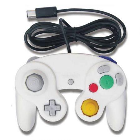 Manette Pour Nintendo Wii et Gamecube Blanche