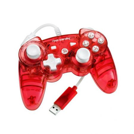 Manette Ps3 Rock Candy Rouge