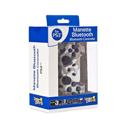 Manette Ps3 Sans Fil Bluetooth Camo Camouflage Snow - Under Control - 1446