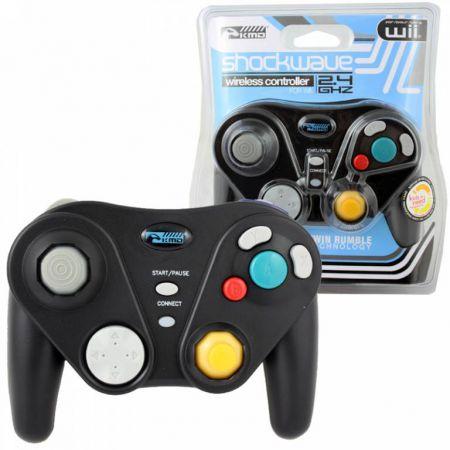 Manette Sans Fil Noire Nintendo Gamecube KMD