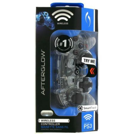 Manette Sans Fil Ps3 Afterglow Bleu - PDP - APS34223