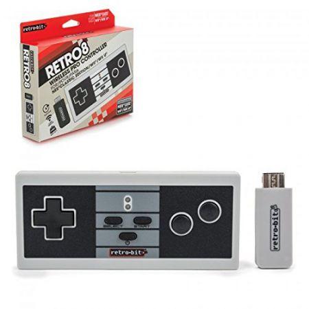 Manette Sans Fil Type Nes pour NES Mini / Wii & Wii U