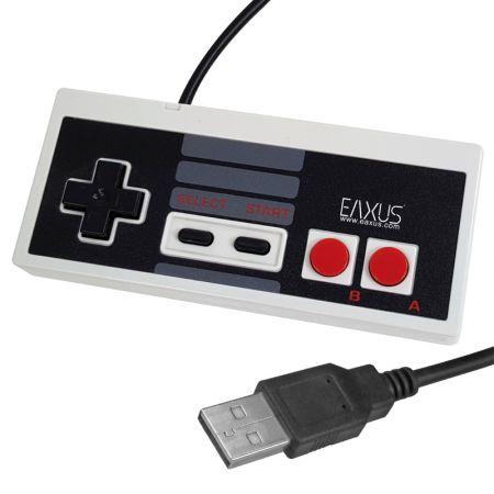 Manette USB PC / MAC Type Classic Nintendo NES - EAXUS