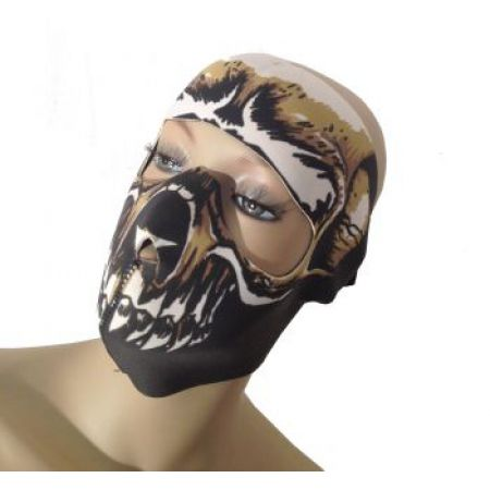 Masque Neoprene Protection Integrale Visage Death Face - 67119