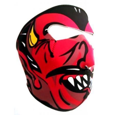 Masque Neoprene Protection Integrale Visage Diable - 67144