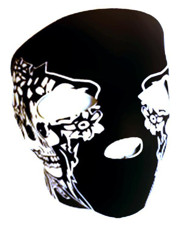 masque neoprene protection integrale visage noir pirate 67147 ai. Black Bedroom Furniture Sets. Home Design Ideas