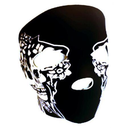 Masque Neoprene Protection Integrale Visage Noir Pirate - 67147