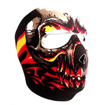 Masque Neoprene Protection Integrale Visage Red Zombie - 67138