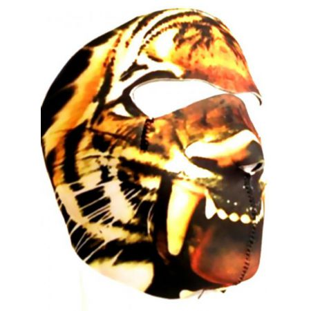 Masque Neoprene Protection Integrale Visage Tigre (Tiger) - 67142