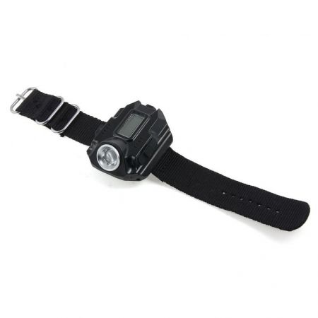 Montre Flash Watch Tactical SWAT - Etanche Lampe Torche 200 Lumens