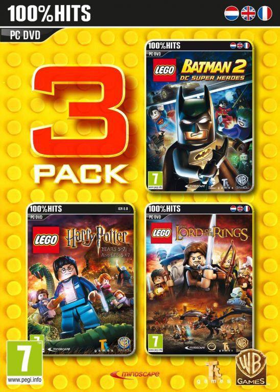 Pack 3 jeux lego batman 2 dc super heroes harry potter ann es 5 - Jeux lego batman 2 gratuit ...