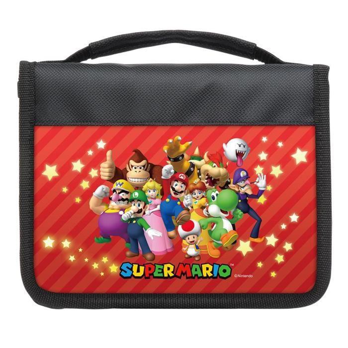 Pack accessoires nintendo 3ds xl 2ds super mario for Housse 2ds xl pokemon