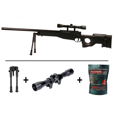 Pack Fusil Sniper L96 AW308 ASG AW 308 Spring (15908 ...