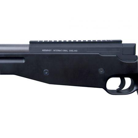 Pack Fusil Sniper L96 AW308 ASG AW 308 Spring (15908) + Lunette de Visée 4x32 + Bipied + Sachet 4000 Billes 0.25g