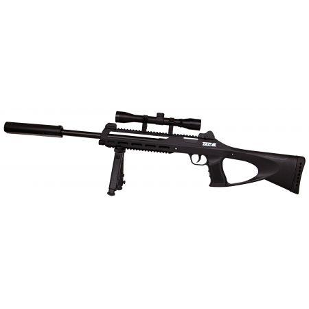 Pack Fusil Sniper Rifle Co2 TAC6 (TAC-6) GNB (18105) + Lunette de visée 4x32 + Bipied + Silencieux + 5 Cartouches Co2 + Sachet 4000 Billes 0.25g