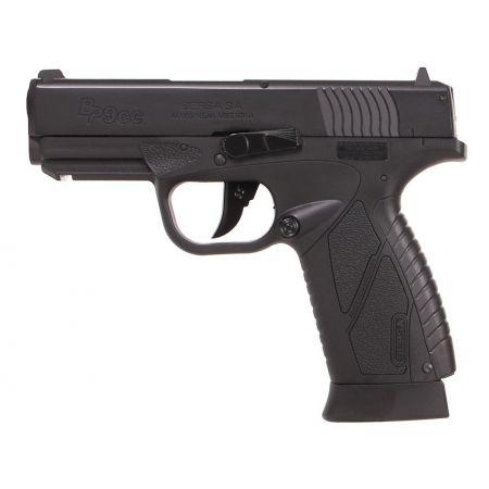 Pack Pistolet Bersa BP9CC Co2 GBB Blowback 17308 + 2 Chargeurs + 5 Cartouches co2 + Mallette + 5000 Billes 0.20g