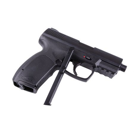Pack Pistolet Combat Zone COP SK Co2 (25958) + 2 Chargeurs + 5 Cartouches Co2 + Malette de Transport + 5000 Billes 0.20g