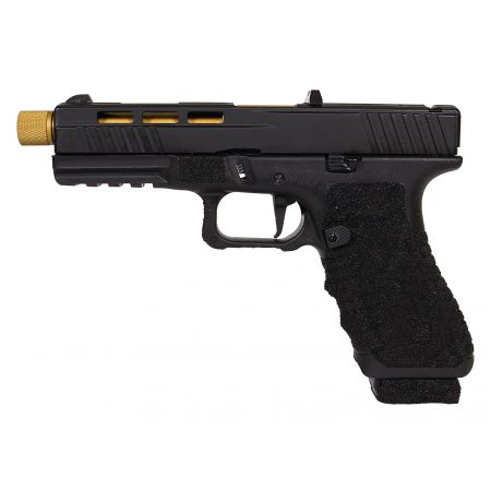 Pack Pistolet Secutor Gladius 17 Co2 GBB - OR + 2 Chargeurs + 5 Cartouches Co2 + Mallette de Transport + 5000 Billes 0.20g