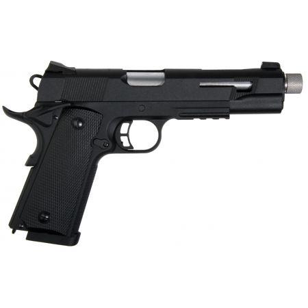 Pack Pistolet Secutor Rudis XI Co2 Silver (SAR0001) + 2 Chargeurs + 5 Cartouches Co2 + Mallette de Transport + 5000 Billes 0.20g