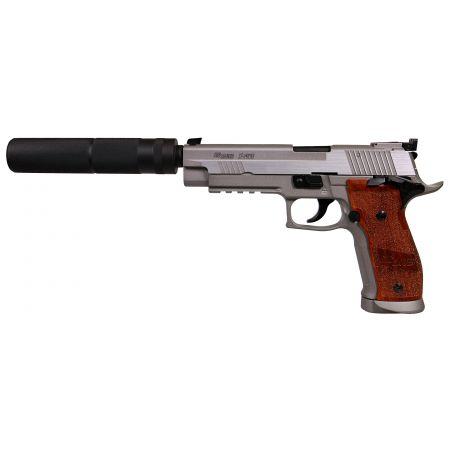 Pack Pistolet Sig Sauer P226 X-Five Hairline Co2 Blowback (280549) + Silencieux  + 5 Cartouches Co2 + Mallette de Transport + 5000 Billes 0.20g
