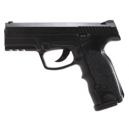 Pack Pistolet Steyr M9 A1GNB Co2 Noir (16090) + 2 Chargeurs + 5 Cartouches Co2 + Mallette de Transport + 5000 Billes 0.20g