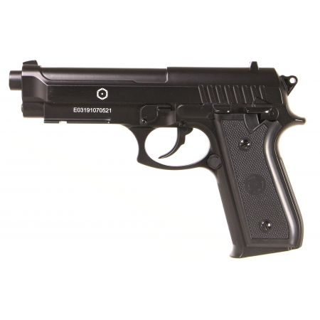 Pack Pistolet Taurus PT92 Co2 M9 Full Metal (210307) + 5 Cartouches Co2 + Malette de Transport + 5000 Billes 0.20g
