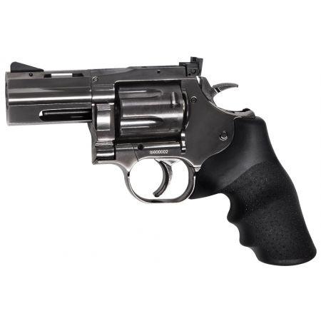 Pack Revolver Dan Wesson 715 2.5 Pouces CO2 (18613) + Cible Metal + 10 Cibles Carton + 500 Billes Aluminium + 5 Cartouches Co2