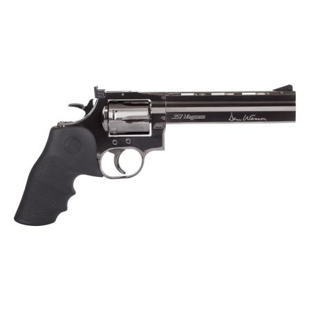 Pack Revolver Dan Wesson 715 6 Pouces CO2 (18191) + Cible Metal + 10 Cibles Carton + 500 Billes Aluminium + 5 Cartouches Co2