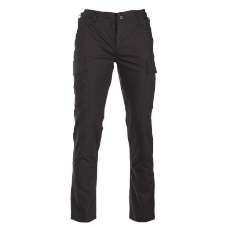 Pantalon Treillis US BDU Coupe Slim - Miltec - Noir
