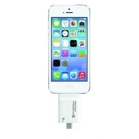 Photo Fast I-Flash Drive 8GB Pour iOS, Android & MAC / PC