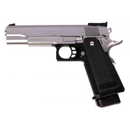 Pistolet 1911 Hi-CAPA 5.1 GBB Gaz Tokyo Marui - Stainless