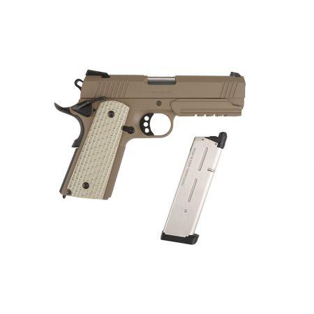 Pistolet 1911 MEU Desert Warrior 4.3 Tokyo Marui GBB Gaz Blowback