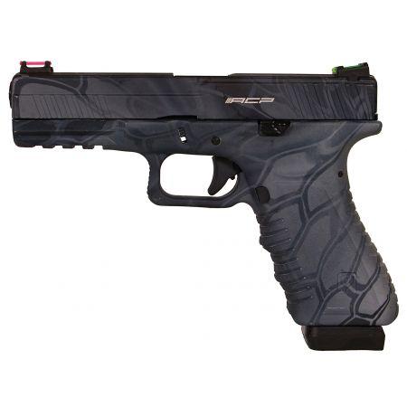 Pistolet APS S17 G17 Kryptech Typhon Co2 Blowback & Culasse Métal ACP601TP