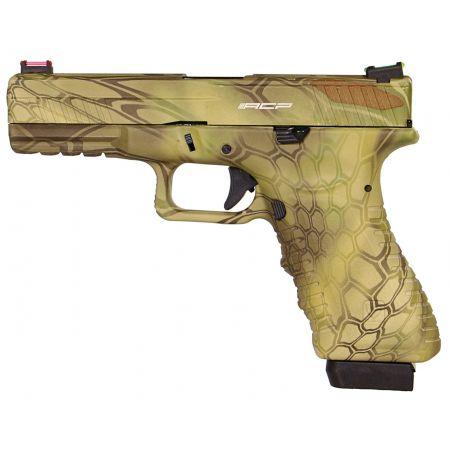 Pistolet APS S17 G17 Mandrake Co2 Blowback & Culasse Métal ACP601MD