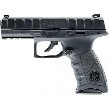 Pistolet Beretta APX Noir Co2 GBB Blowback Culasse Metal Umarex - 26302