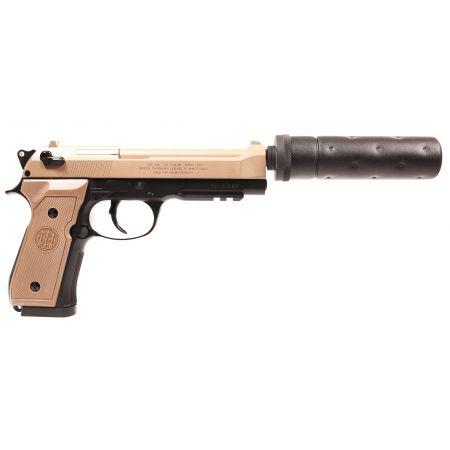 Pistolet Beretta M92 A1 Tactical AEP Umarex Tan & Noir - 26343