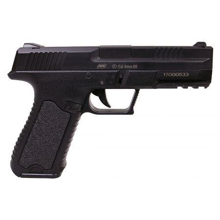 Pistolet Challenger XP17 AEP Noir (19103) + 2 Chargeurs + Mallette de Transport + 5000 Billes 0.20g