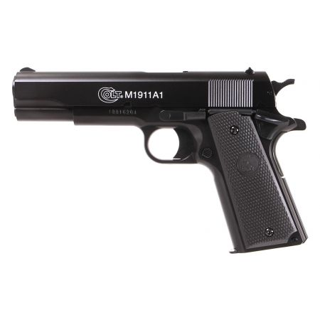 Pistolet Colt 1911 A1 HPA Cybergun Spring Culasse Metal Serie Bax - 180116