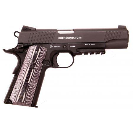 Pistolet Colt 1911 Combat Unit Co2 Full Metal Blowback Noir - 180564