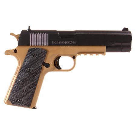 Pistolet Colt 1911 M1911 Spring Tan & Noir - 180123