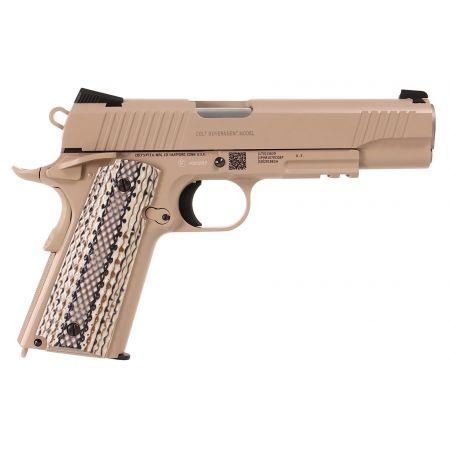 Pistolet Colt 1911 M45 A1 Rail Gun Co2 - TAN - Full Metal - Blowback - 180521
