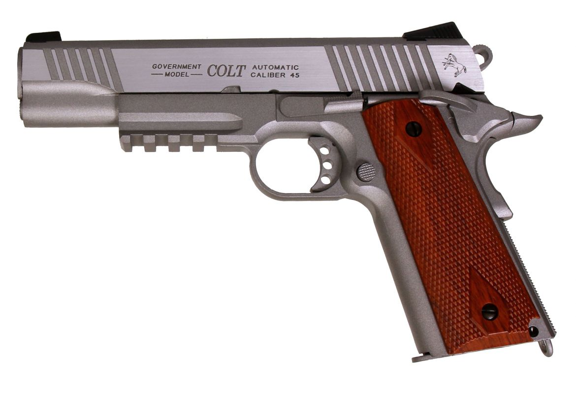 COLT GOVERNMENT 1911 A1 RAIL GUN  Walther Arms