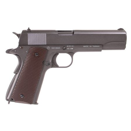 Pistolet Colt M1911 A1 Co2 Full Metal Culasse Mobile Cybergun 180512
